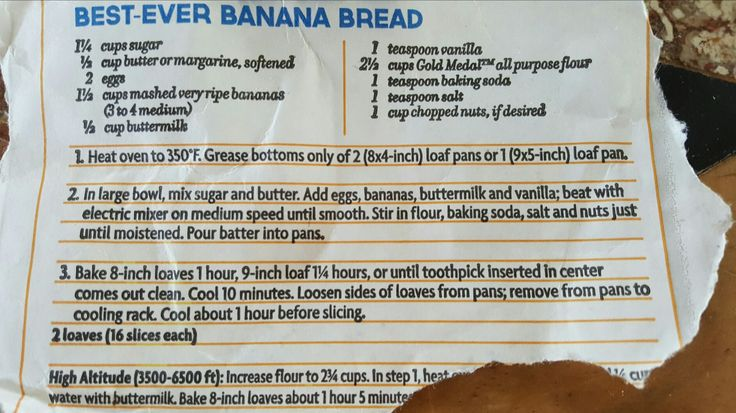 This is literally the best banana bread I have ever made.  Moist and delicious!!! LW