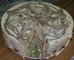 Tvarohová nepečená torta