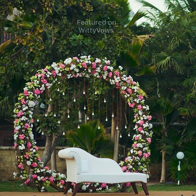Stunning Stage Decor Indian Wedding Decor Inspiration Huge