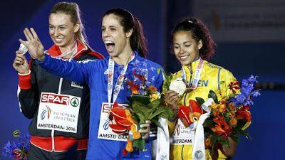 ΕΛΛΗΝΙΚΗ ΔΡΑΣΗ: Χρυσό μετάλλιο στο Πανευρωπαϊκό για την Κατερίνα Σ...