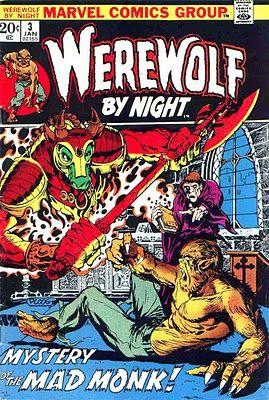 Werewolf by Night #3 by Mike Ploog