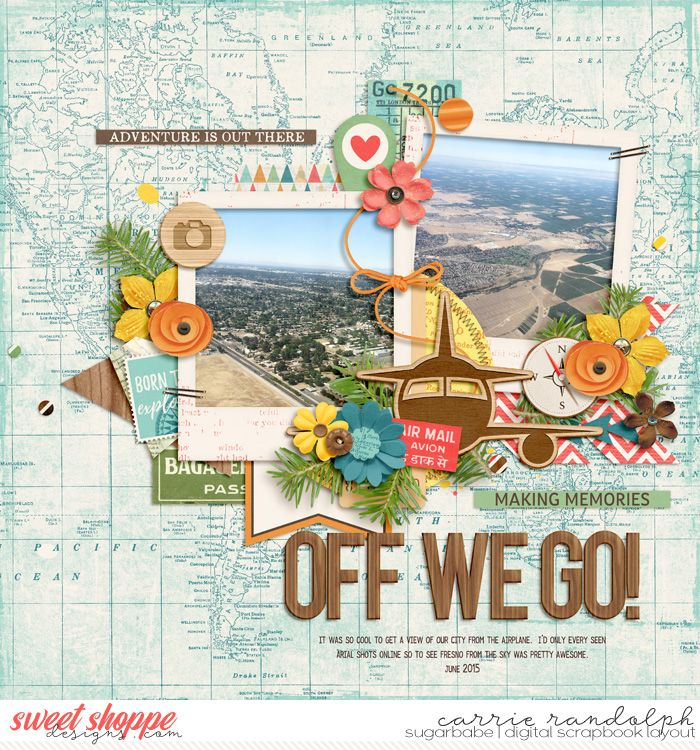 All Around the World by Studio Flergs & Digital Scrapbook Ingredients | Miscellaneous 2 Template