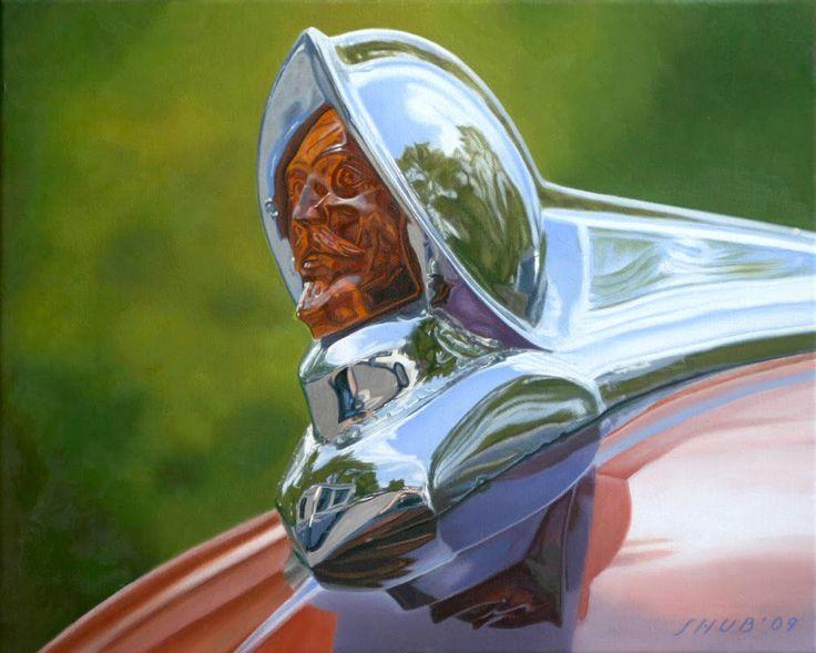 '51 DeSoto Hood Ornament