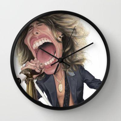 #StevenTyler Wall Clock by Sant Toscanni - $30.00