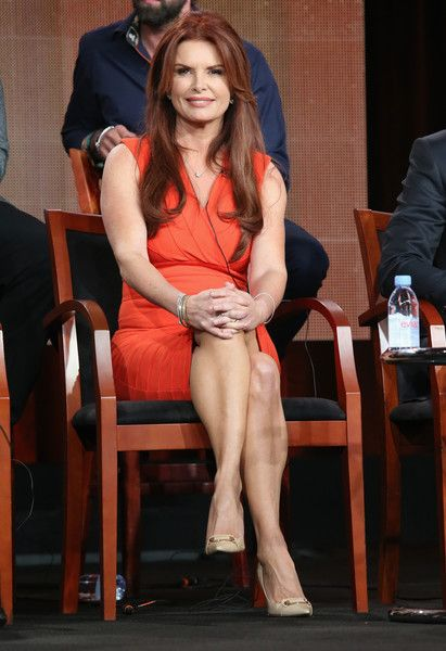 Executive producer Roma Downey speaks onstage during the 'A.D. The Bible Continues' panel discussion at the NBC/Universal portion of the 2015 Winter TCA Tour at the Langham Hotel on January 16, 2015 in Pasadena, California.