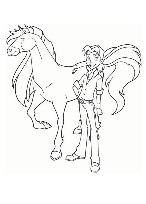 Horseland Coloring Pages Bailey And Aztec Kids Printable Coloring Pages Horse Coloring Pages Horse Coloring Books