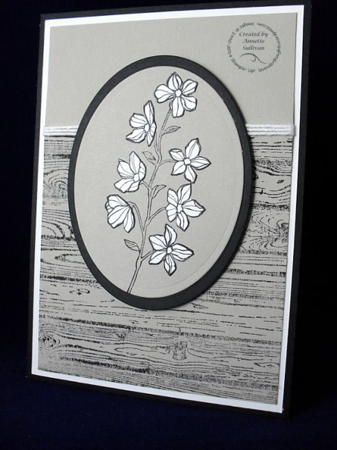 Lavender Thoughts Stampin' Up! Peaceful Petals Hardwood Sahara - CASE from Brian King