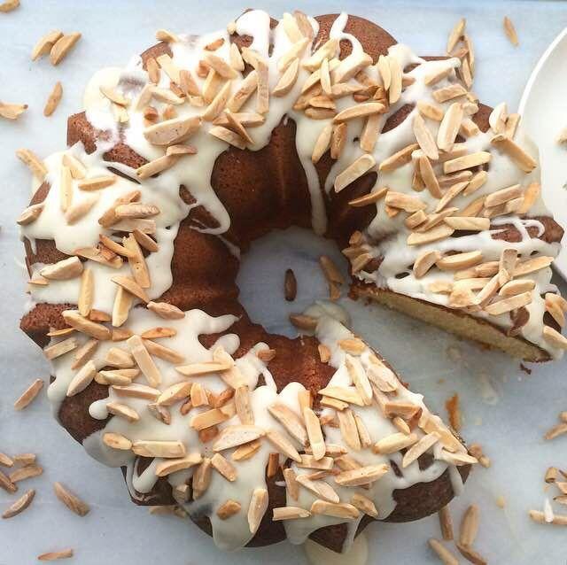 Marzipan Bundt Cake | E2 Bakes Brooklyn