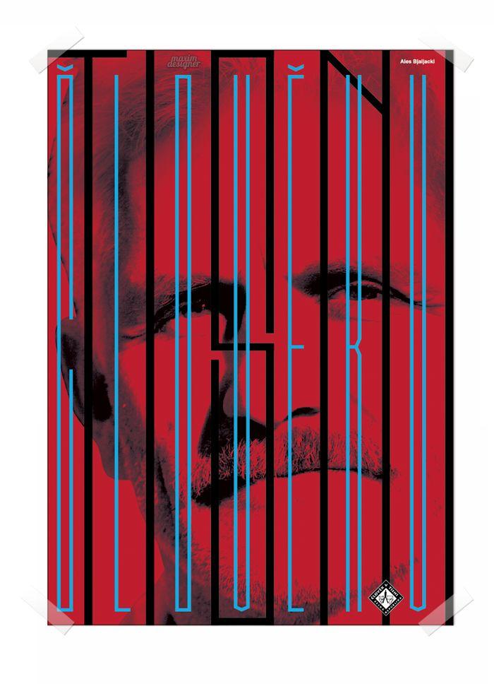 Ales Bjaljacky poster