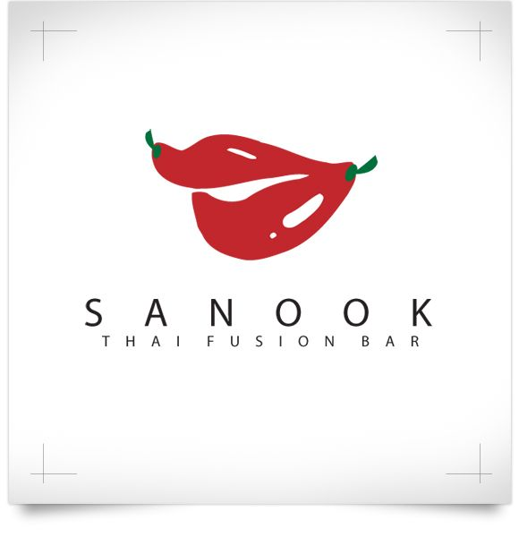 Sanook Thai Fusion Bar: Logo Development