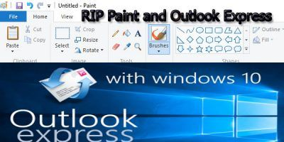 Microsoft is dumping some of the Windows 10 capabilities with the upgrade, and that includes features like Outlook Express and Microsoft Paint.