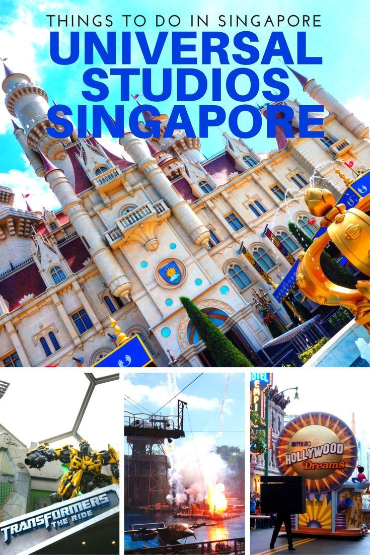 Things to do in Singapore - Universal Studios Singapore