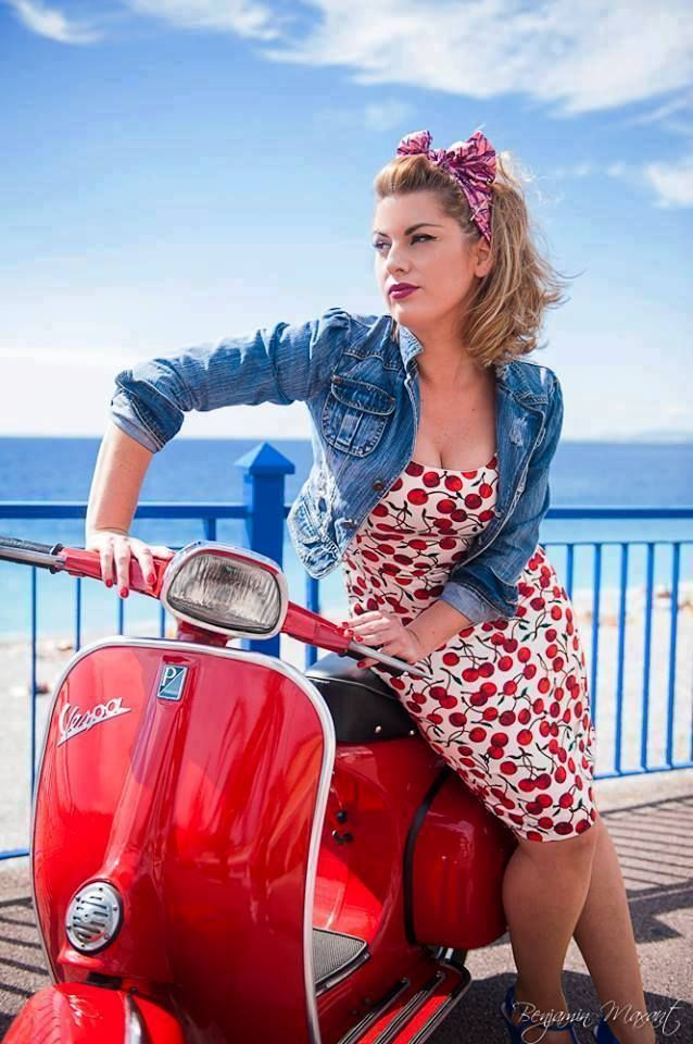 #Girls love #Vespa