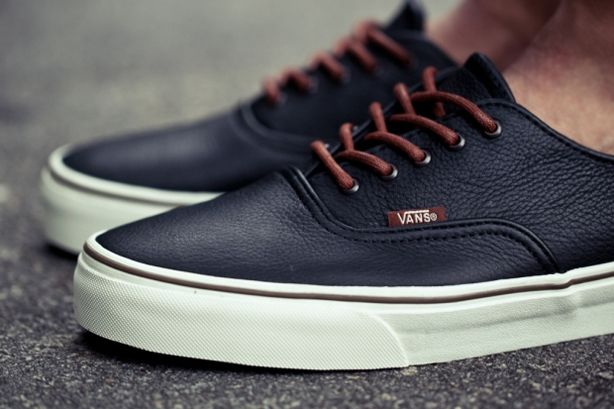 New Old Vans - Esquire / leather- menswear