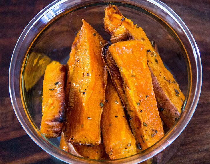 Запеченный сладкий картофель (батат)