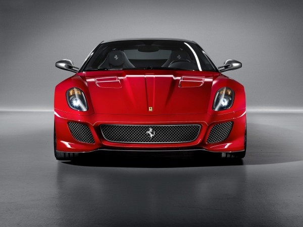 red ferrari ,599 ,GTO ,2011,car