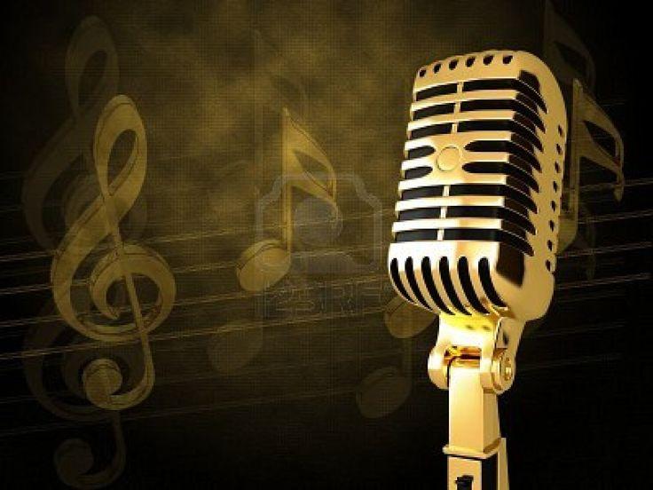 25 best vintage microphone ideas on pinterest singing - Microphone wallpaper ...