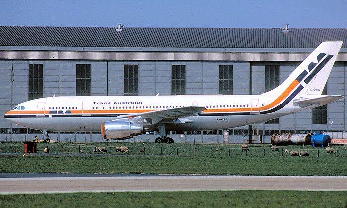 Trans Australia Airlines Airbus A300B4-203 (VH-TAA)
