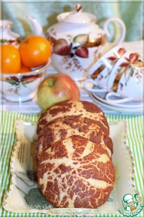 """Мексиканские булочки """"Конча"""" - кулинарный рецепт"""