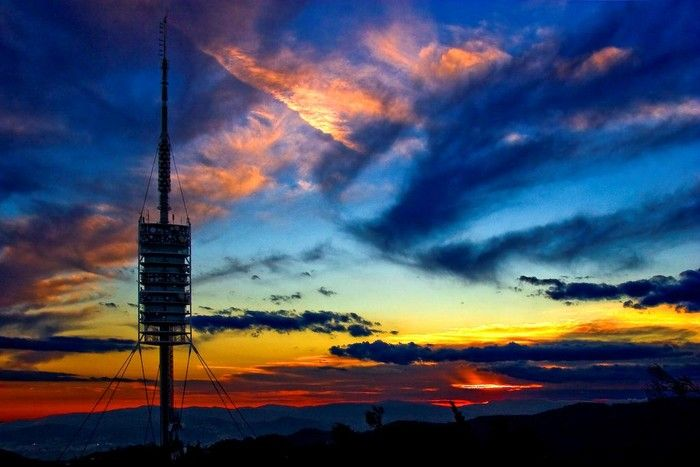Torre Collserola. Sir Norman Foster