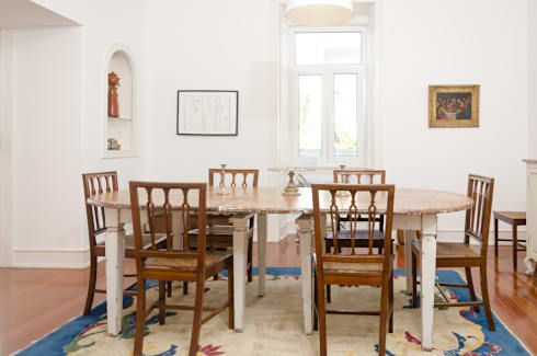 mediterranean Dining room by EU LISBOA