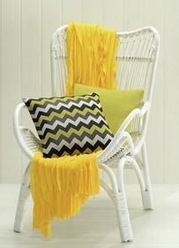 A little bit of sunshine yellow from Lorraine Lea Linen