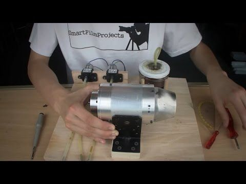 Homemade Jet Engine 2.0 | Complete Setup - YouTube