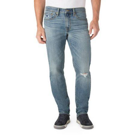 Signature by Levi Strauss & Co. Men's Skinny Fit Jeans, Size: 32 x 32