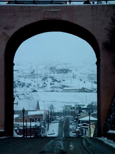 Snowy México... Cananea, in the state of Sonora.