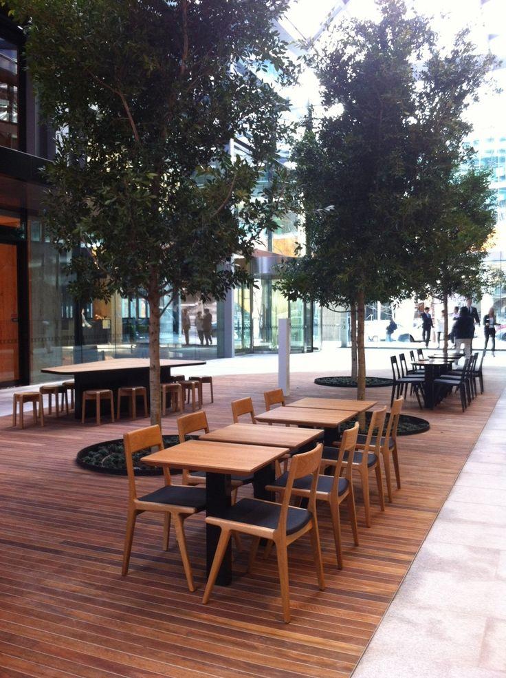 Temperature Design Tomoe Chairs @ Collins Square Melbourne (Walker Corporation).