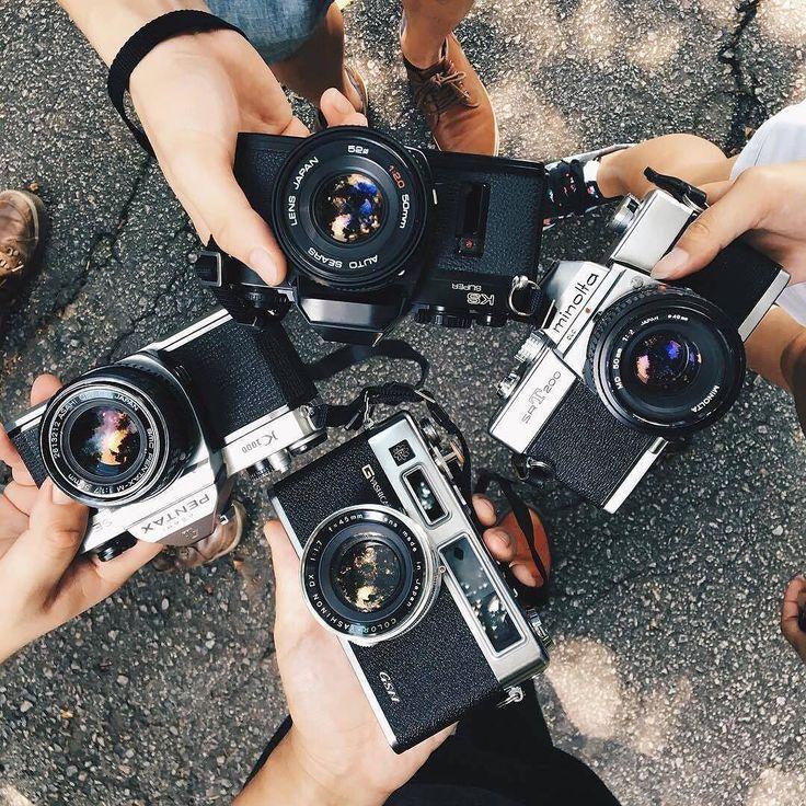 Фотографы фотографируют на пленку