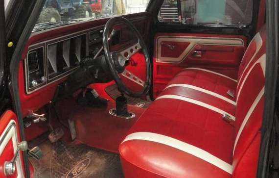 Go Back  U0026gt  Gallery For  U0026gt  1978 Ford Truck Interior