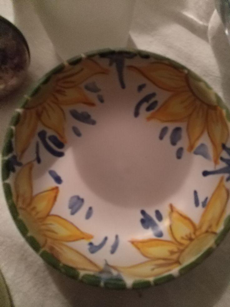 piato in ceramica per cioccolata o olive  4 frs