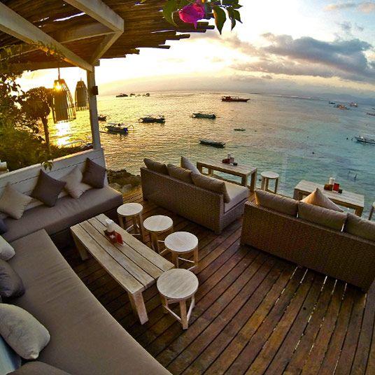 One of our fav breakfast spots!Batu Karang Lembongan Resort Nusa Lembongan, Bali, Indonesia.