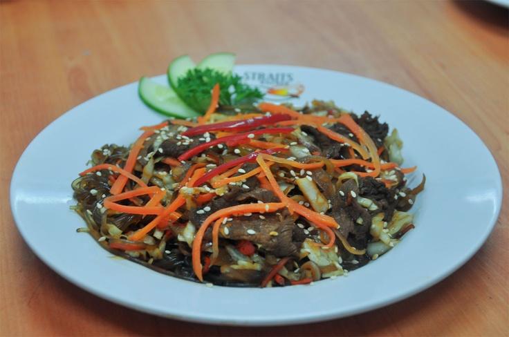Japchae at Bulgogi Korean Food