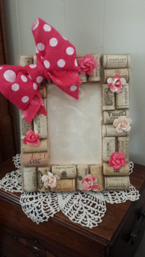 Hey, I found this really awesome Etsy listing at https://www.etsy.com/listing/189095328/4x6-picture-frame-with-pink-polka-dot