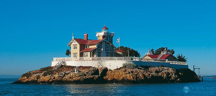 East Brother Island, USA, California