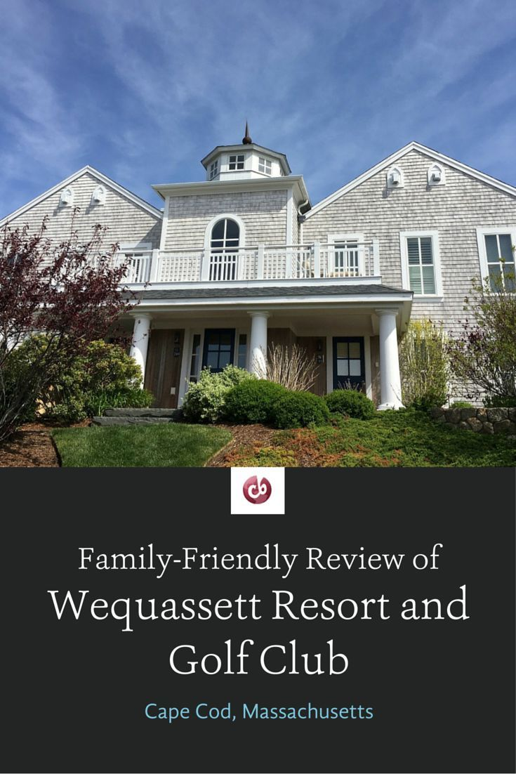Review of Wequassett Resort on Cape Cod with Kids
