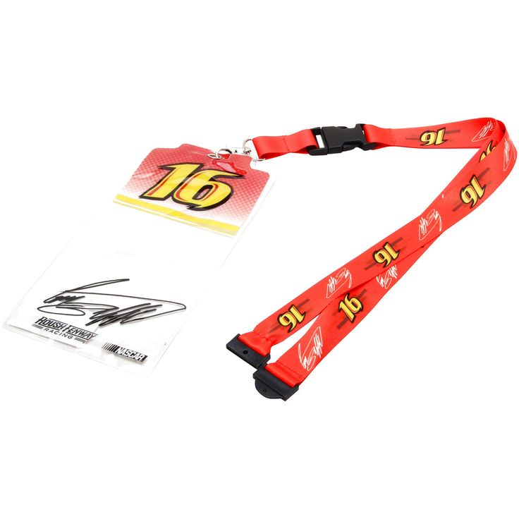 Greg Biffle Lanyard with Credential Holder - $7.99