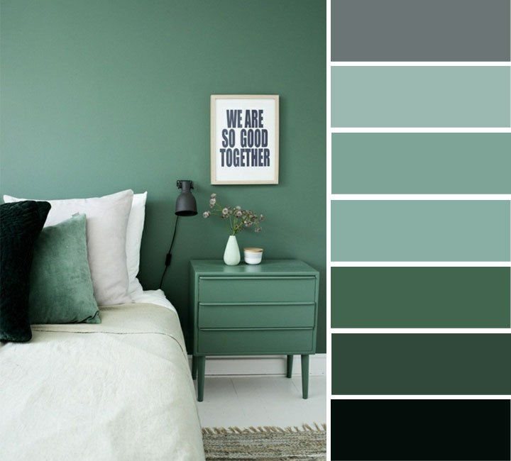 28+ Green and grey bedroom ideas ppdb 2021