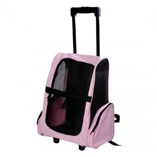La maleta transportin, es perfecta para ir de viaje con toda la familia, y cuando nos referimos a toda la familia también a nuestras mascotas, este transportin esta pensado para este tipo de situaciones donde nuestras mascotas tienen un lugar muy importante en nuestras vacaciones.  Adecuado como mochila o carrito para el transporte de perros pequeños, gatos y otras mascotas. Envio GRATIS 24/48h https://www.aosom.es/mascotas/pawhut-2-en-1-carrito-mochila-transportin-mascotas-rosa-negro.html
