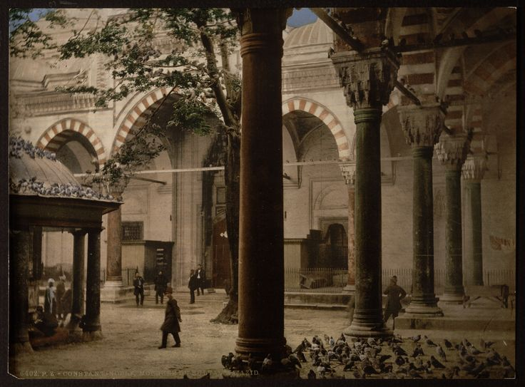 Mosque of Sultan Bayezid, Constantinople, Turkey. Between 1890 and 1900. Istanbul