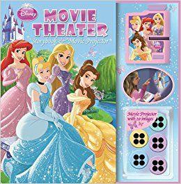 Disney Princess Movie Theater: Storybook & Movie Projector Price:$16.37