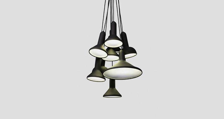Torch light by Sylvain Willenz lighting