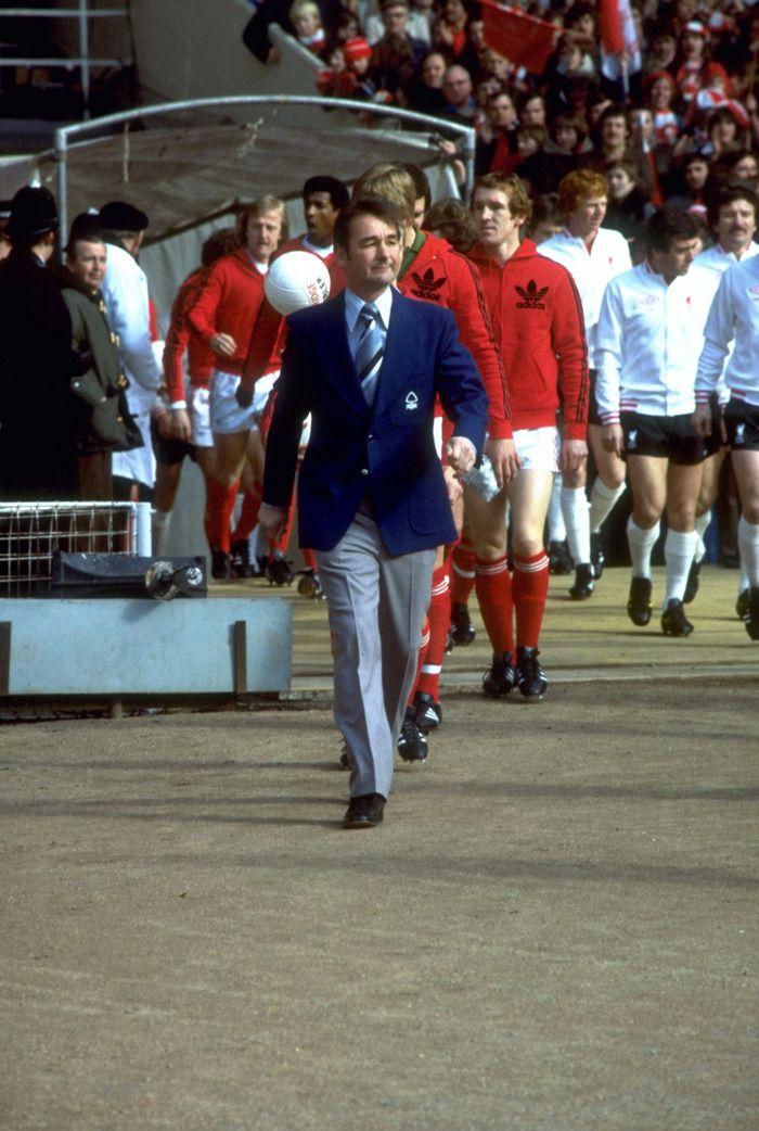 Brian Clough at Wembley 1978