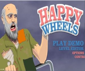 Happy Wheels is the name of game and is one of skill games. Are you afraid of bleeding?