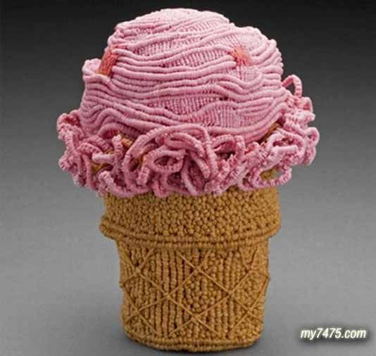 Delicious Looking Knitted Food Art | MY7475:Creative Coolest Funny Beautiful