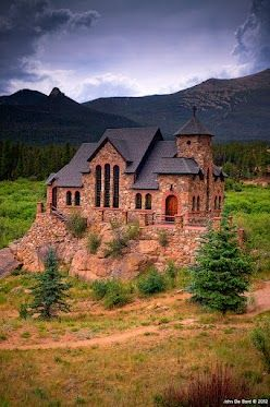 """Church Of The Rock""  Located outside of Estes Park, Colorado I think it is safe to say that this is one of favorite all time locations to photograph. It is certainly an icon and is one of the most photographed churches in all of North America, then again is it any wonder why? Resembling something out of Lord Of The Rings, this place never fails to disappoint and I have several shots of it here within...  Expand this post »"