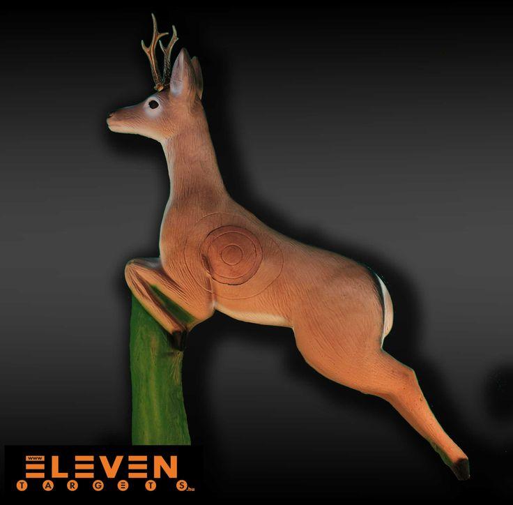 #Eleven 3D Leaping deer. #IFAA category: 2. #Eleven 3D Ugró őz. #IFAA kategória: 2.  #archery #target  http://eleventargets.hu/index.php?action=showpic&fid=832