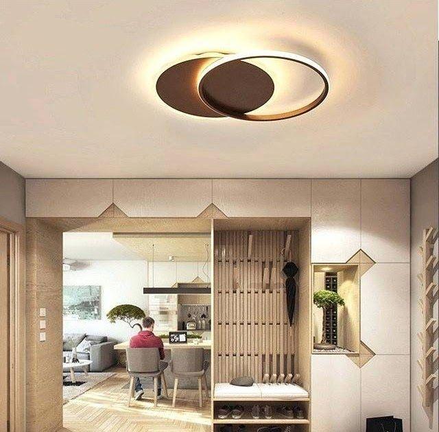 bedroom low ceiling lighting aluminum